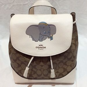 Authentic Coach X Disney Dumbo Elle Backpack